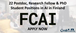 Research Fellow and PhD Student Positions