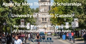 University of Toronto Scholarships