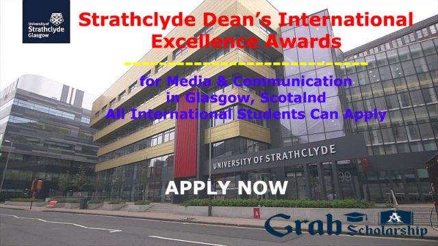 Strathclyde Dean's International Excellence Awards