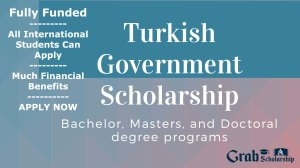 Turkish Government Scholarship