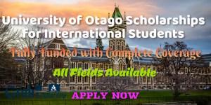 University of Otago Scholarships for International Students