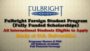 Fulbright Foreign Student Program