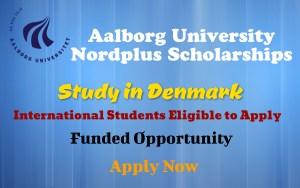 Aalborg University Nordplus Scholarships
