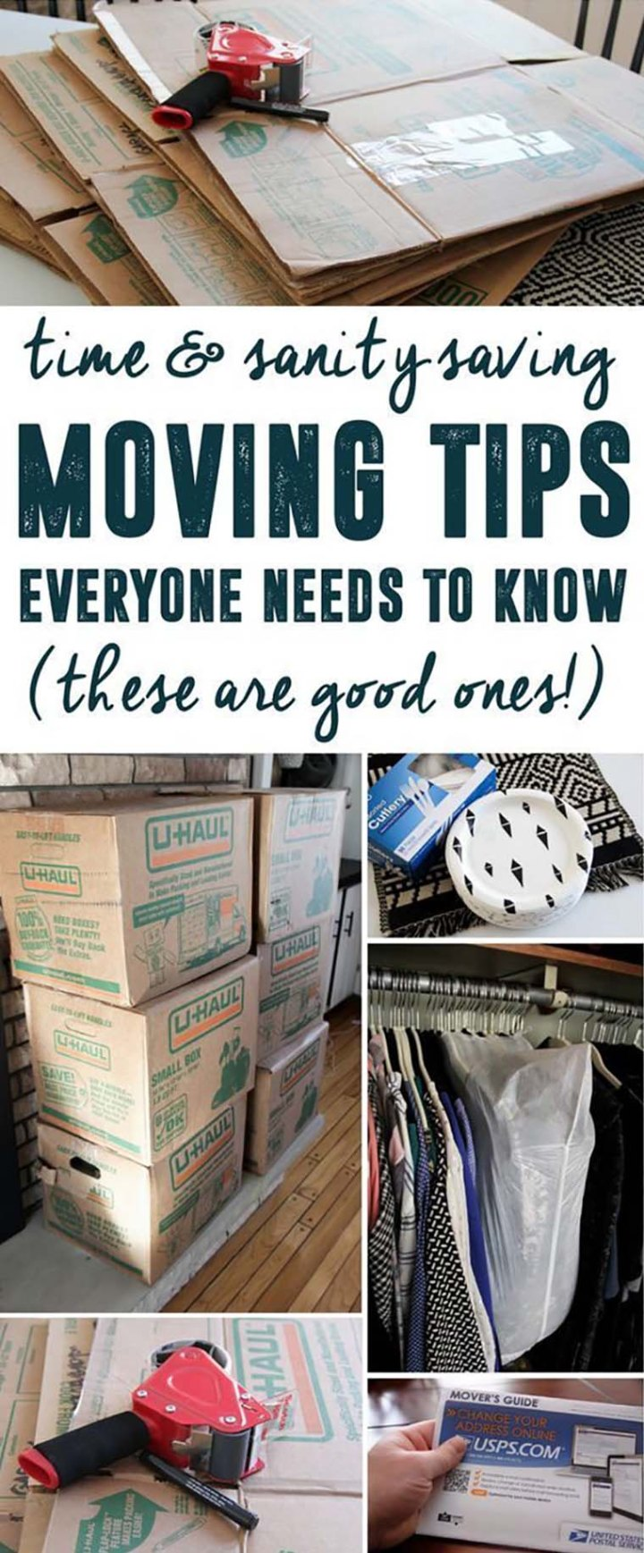 Guides and Advices for Moving