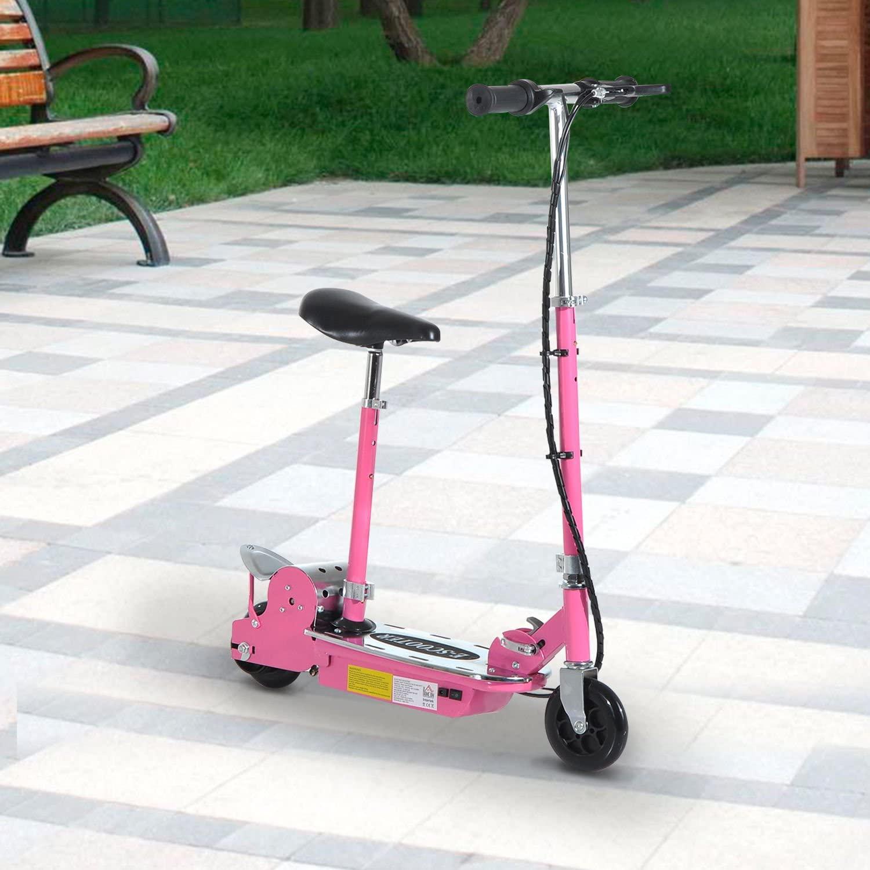 HOMCOM Teens Foldable Electric Scooter for Kids   GrabHub