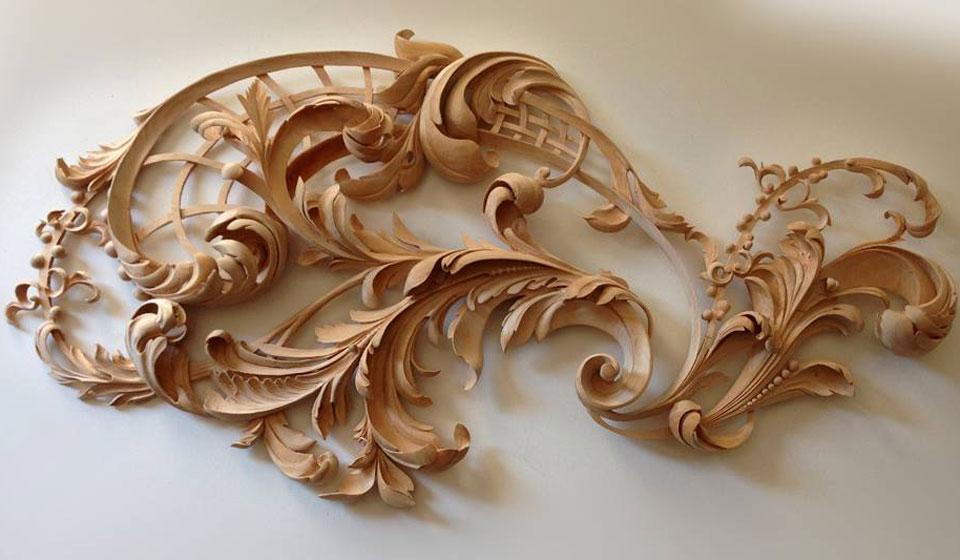 Custom Wood Carving By Alexander Grabovetskiy