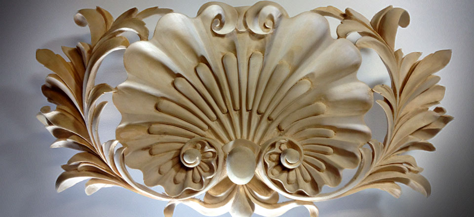 high end architectural carving