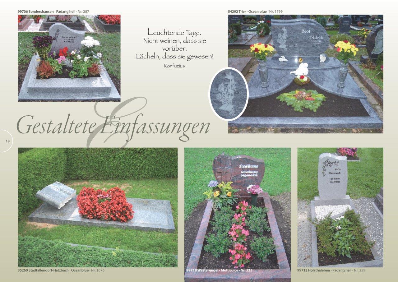 Esge Grabstein Gmbh, Grabsteine Und Zubehör, Bundesweit