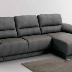 Black Sofa Chaise Longue Cheapest L Shaped Bed Madrid Trendy Bring Style Into Your