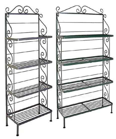 Bakers Racks with Wire Shelves