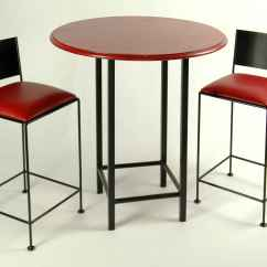Tall Table And Chairs Folding Metal Bar Tables Wrought Iron