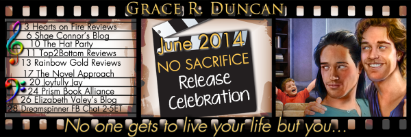 No Sacrifice Book Tour