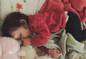 The immeasurable value of a sleeping baby.