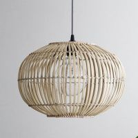 Bamboo Pendant Lightshade Extra Large - Grace & Glory Home