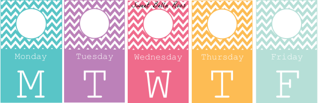 Days of the Week Closet Tags- Free Printable - Grace and Good Eats
