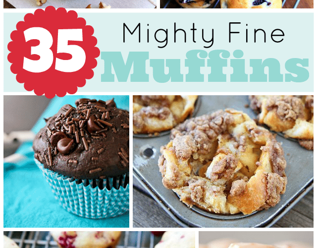 35 Mighty Fine Muffin Recipes