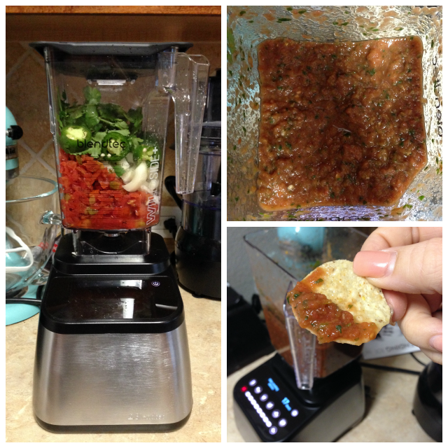 Restaurant Style Salsa- my favorite recipe for when I need a chips and salsa fix!