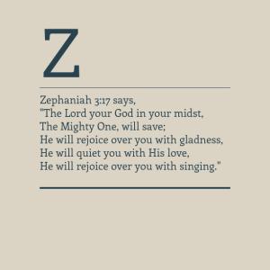 Zephaniah 3.17