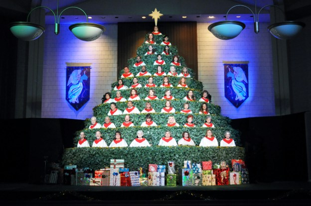 Living Christmas Tree.Living Christmas Tree Grace Bible Church Of Oxnard