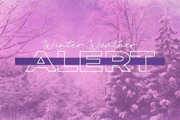 Winter Weather Alert banner graphic