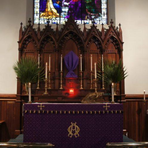 Lent - Cross Covered