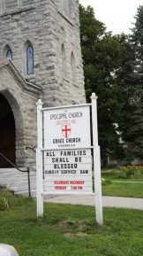 Grace Church Canton- Sign