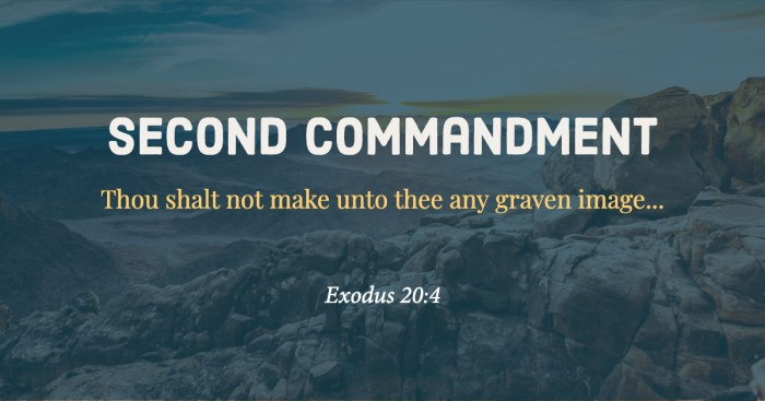 Second Commandment