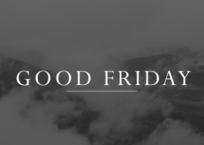 Good Friday Prayer Service