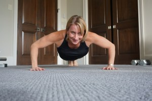 A combination of hard work and genetics builds great muscle tone. Amy Connell | GracedHealth.com