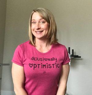 Delusional Optimistic | Skirt Sports Ambassador | Amy Connell | GracedHealth.com