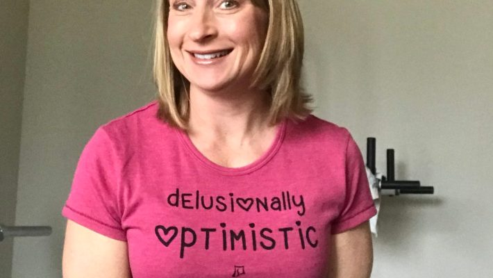 Delusional Optimistic | Skirt Sports Ambassador | Amy Connell | GracedHealth.com
