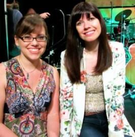 Stephanie with Kristyn Getty: 2013 Gospel Coalition Conf.
