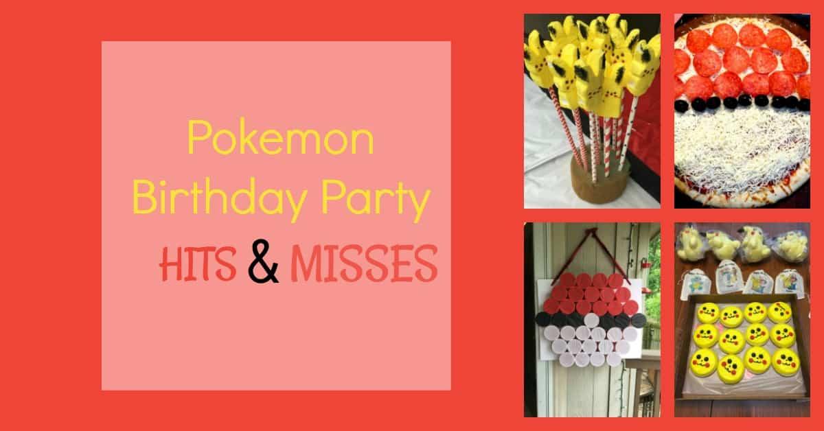 How to Throw an Amazing Pokemon Birthday Party