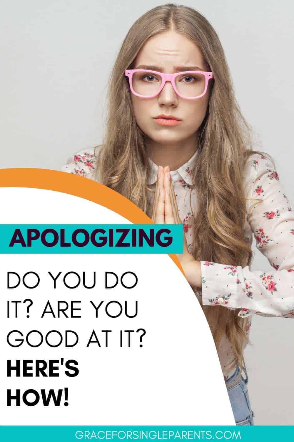 Apologizing: Do you do it? Are you good at it?