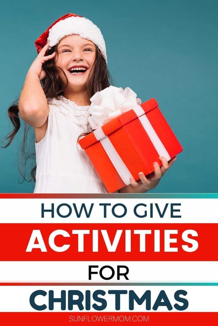 How to Give Activities for Christmas with a DIY Activity of the Month Club