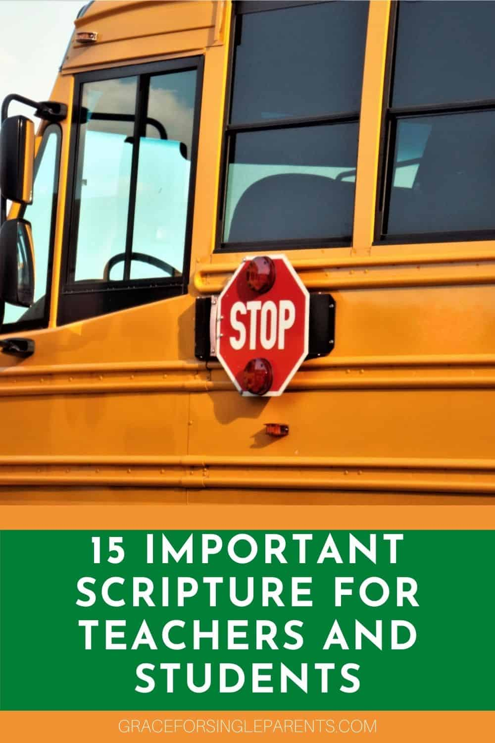 15 Bible Verses You Need for Back to School