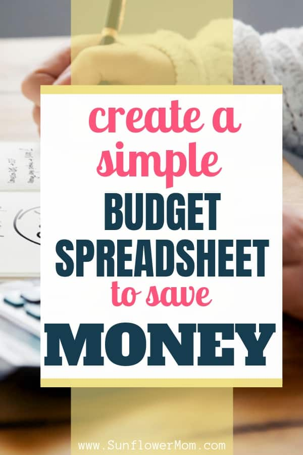 Create Your Own Budget Spreadsheet - Step by Step