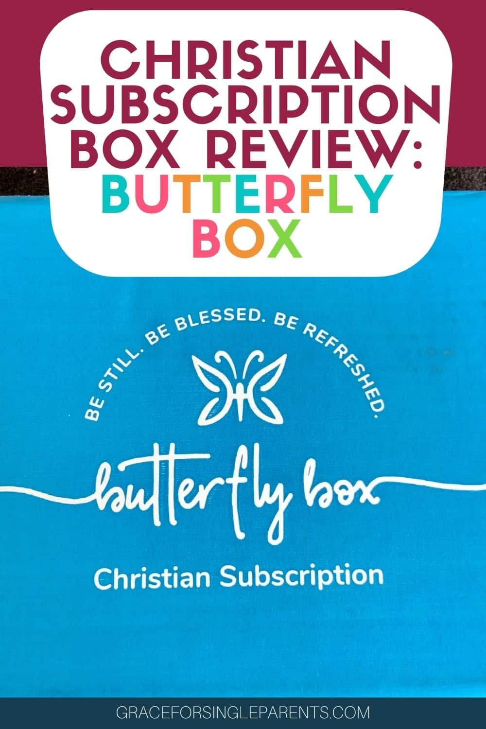 All About the Christian Subscription box: Butterfly Box