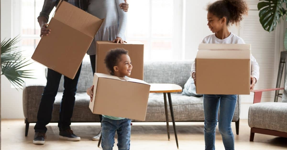 Moving With Kids: How to Ease the Transition