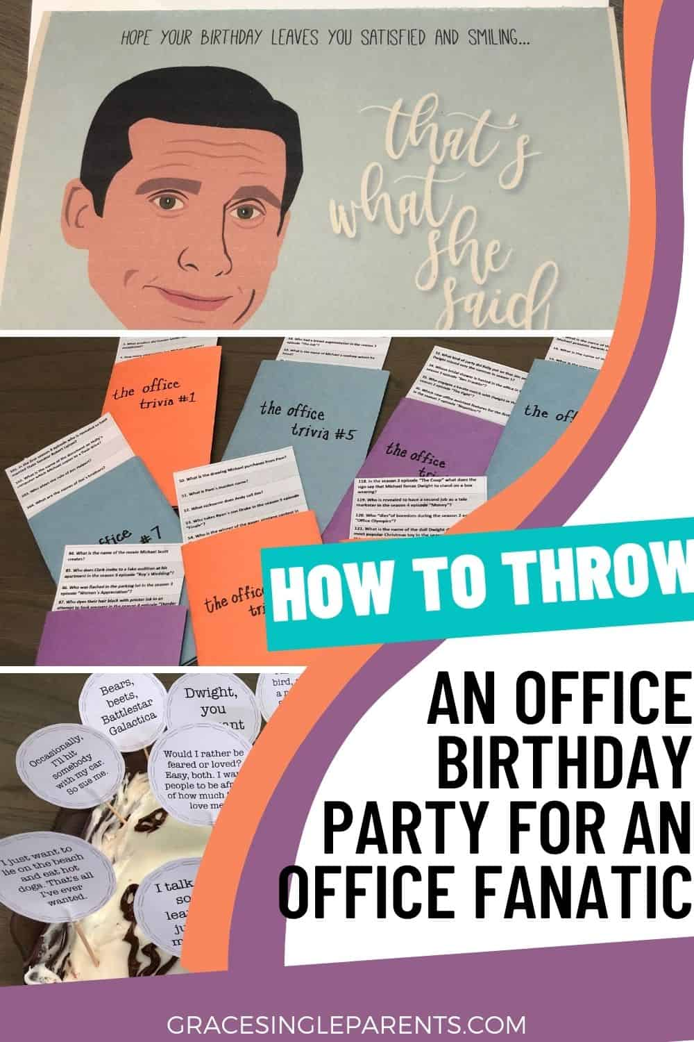 How to Throw An Office Birthday for a Teenager (or Any Office Fanatic)