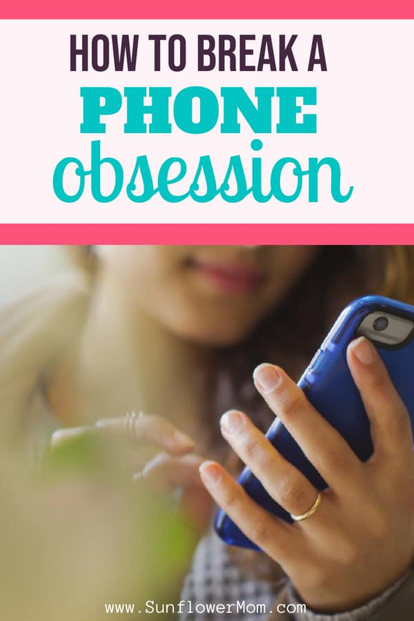 Break Your Cell Phone Obsession