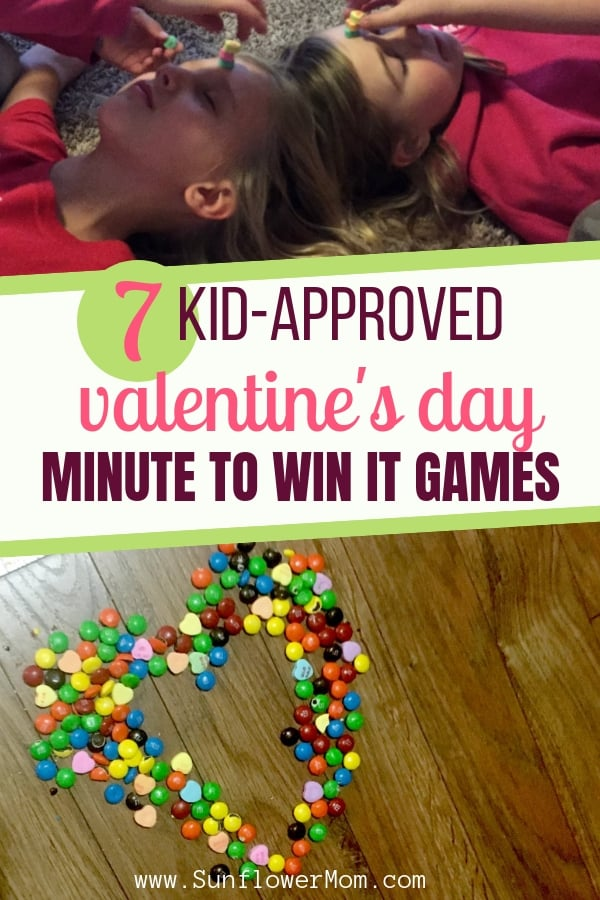 7 Kid-Approved Valentine's Day Minute to Win It Games