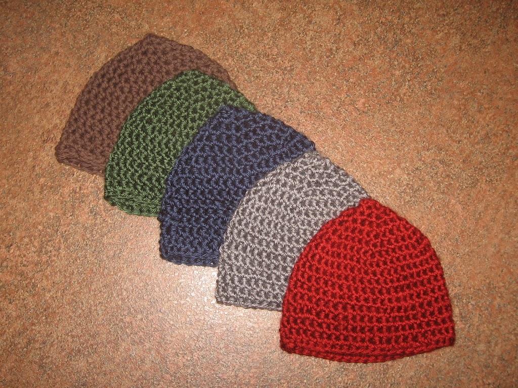 Crocheted Baby Boy Hats - Graceful Little Honey Bee