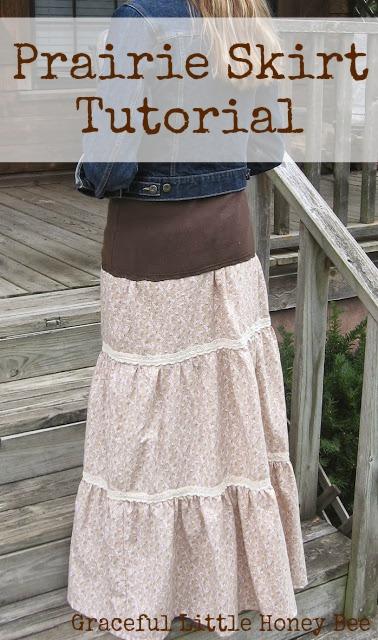 Prairie Skirt Tutorial
