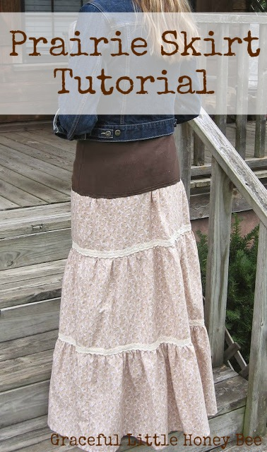 Prairie Skirt Tutorial
