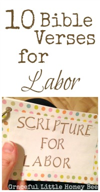 These bible verses will help to prepare you mentally and physically as you await the birth of your baby.