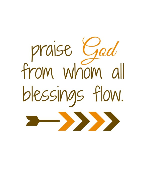 Praise God Printable