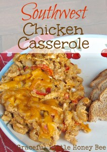 This casserole is easy, delicious, and freezer friendly!