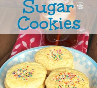 Cake Mix Sugar Cookies on gracefullittlehoneybee.com
