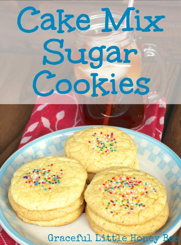 How To Make Sugar Cookies Out Of Yellow Cake Mix